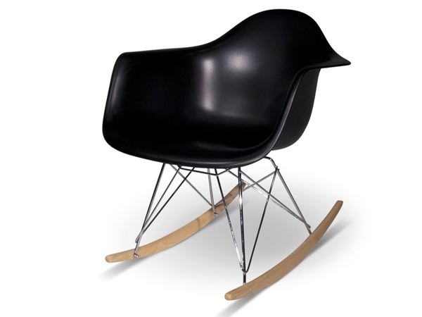 Eames Rocking Chair RAR - Negro