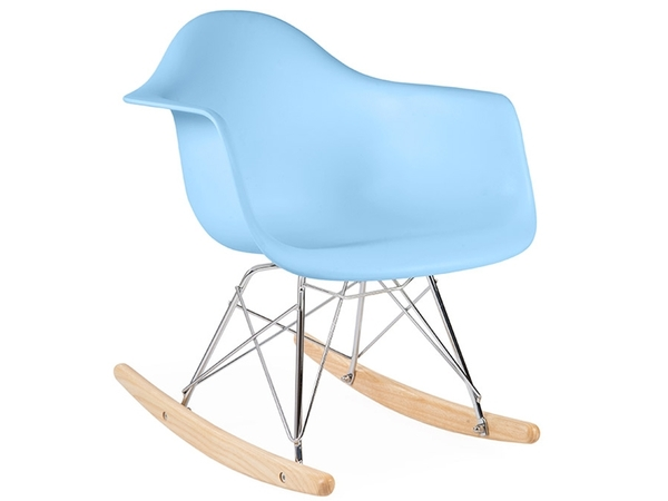 Eames rocking chair RAR niño - Azul