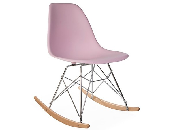Eames Rocking Chair RSR - Rosa